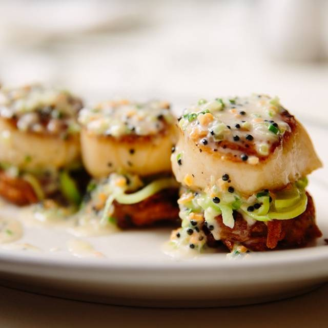 Seared Sea Scallops - Joe's Seafood, Prime Steak & Stone Crab - Washington DC, Washington, DC