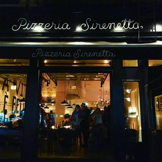 Pizzeria Sirenetta, New York, NY