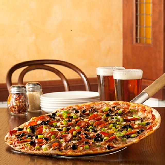 Deluxe Pizza  - Zaffiro's - Mequon, Mequon, WI