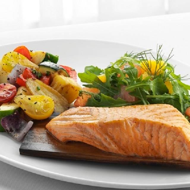 Cedar Plank Salmon - McCormick & Schmick's Seafood - Austin (Century Oaks), Austin, TX