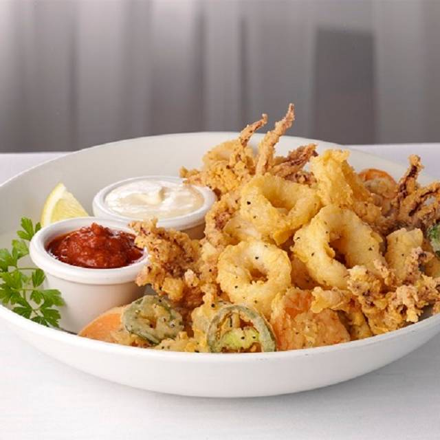 Calamari Frit Mist - McCormick's Fish House - Denver, Denver, CO