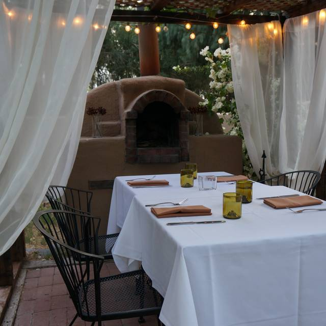 Brick Oven Table - Quiessence at The Farm at South Mountain, Phoenix, AZ