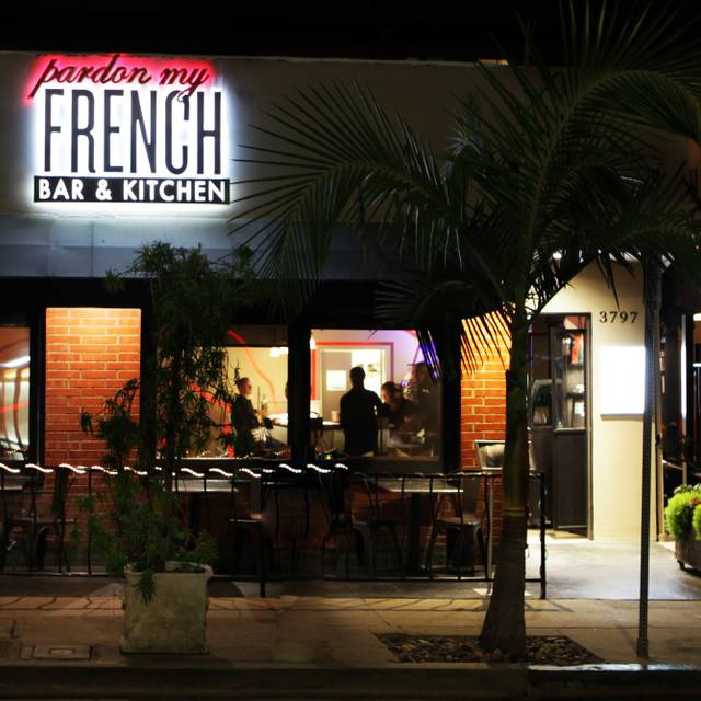 Pardon My French Bar Kitchen San Diego Ca