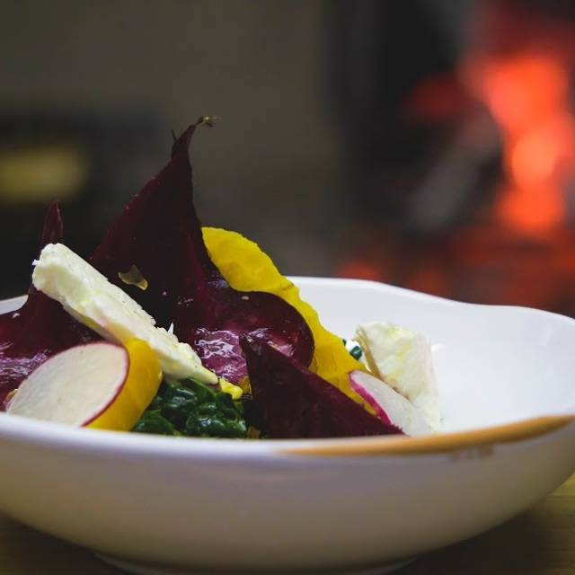 Roasted Beet Salad - Golden Fleece, Asheville, NC