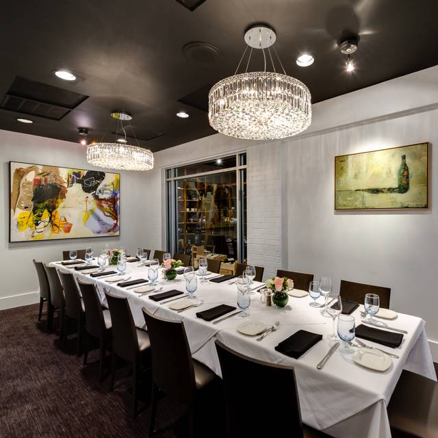 Wine Room | Amerigo's Grille Private Dining - Amerigo's Grille – The Woodlands, The Woodlands, TX