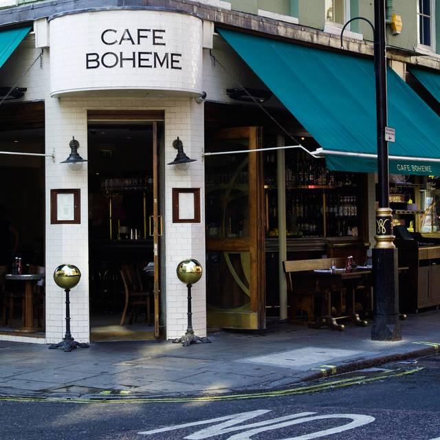 Cafe Boheme - Café Boheme, London