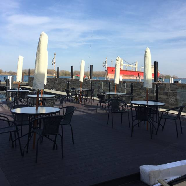 Patio - The Waterfront Restaurant & Lounge, Wyandotte, MI