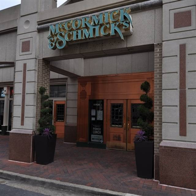 Mccormick Schmick S Seafood Reston