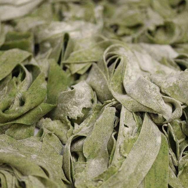 Spinach Fettuchine - La Fontana Del Mare, Strathmere, NJ