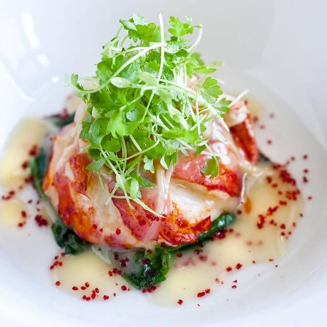 roasted maine lobster in alsace gewurtzraminer everest chicago il - Natrliche Hickory Holzbden