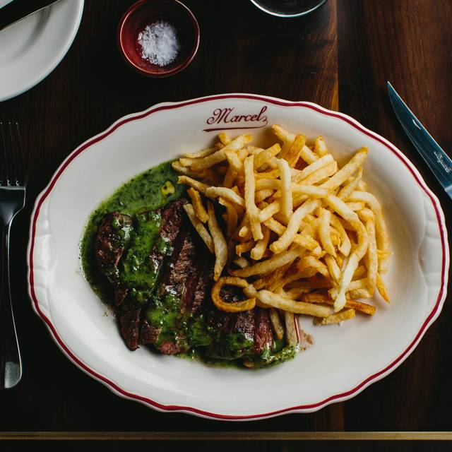 L'entrecote (served With Sauce Verte And Frites)  - Marcel, Atlanta, GA