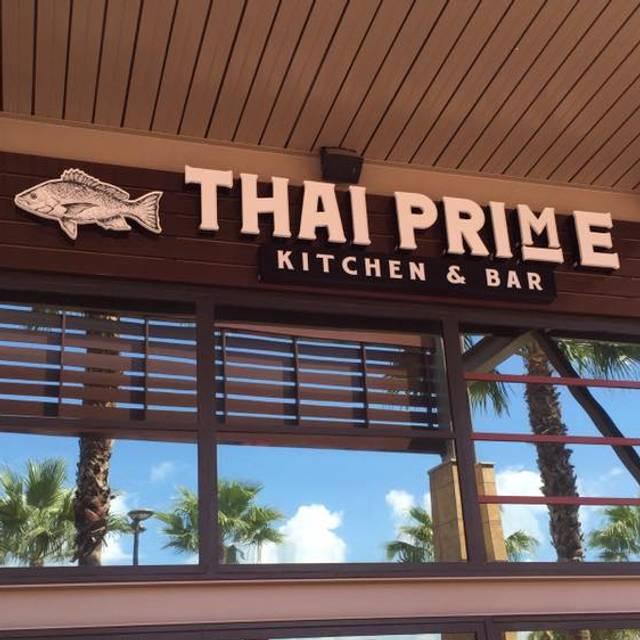 Thai Prime Kitchen And Bar Tampa