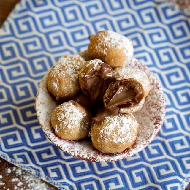Nutella Doughnuts - Cabana Brasilian Barbecue - Westfield White City, London