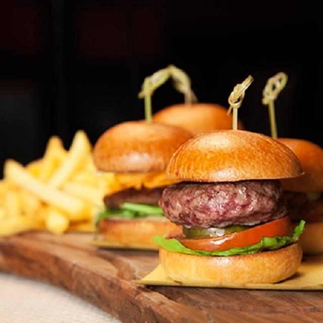 Burger Platter - Soho Zebrano, London
