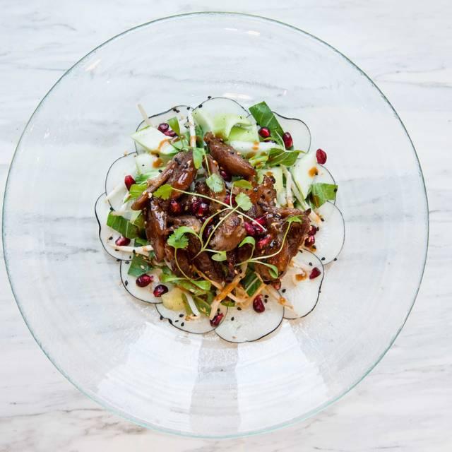 Crispy Duck Salad - Ivy Chelsea Garden, London
