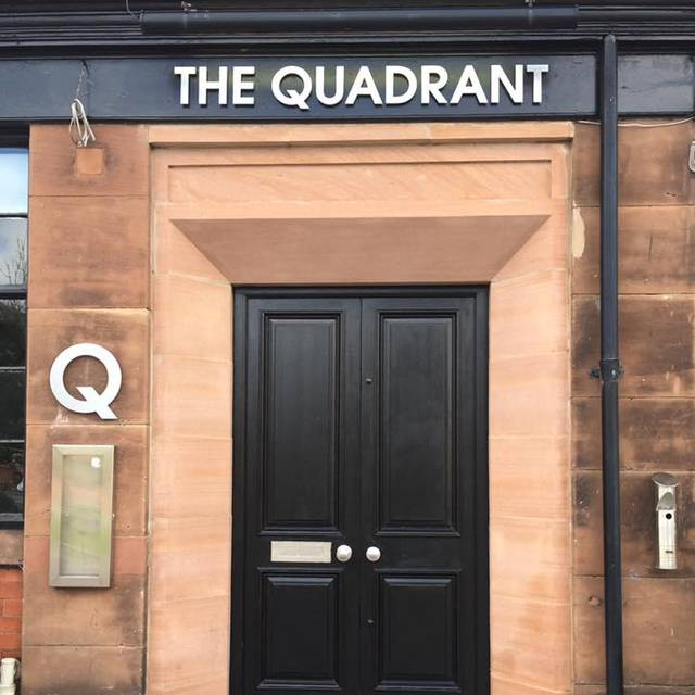 Quadrant Door - The Quadrant Restaurant & Bar, Hoylake, Merseyside