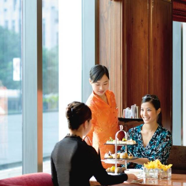 Hong-kong-lounge-clipper-lounge - Clipper Lounge - Mandarin Oriental Hong Kong, Hong Kong, Hong Kong