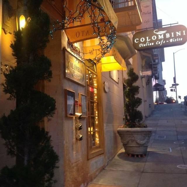 Entrance - Colombini Italian Cafe & Bistro - Nob Hill Hotel, San Francisco, CA