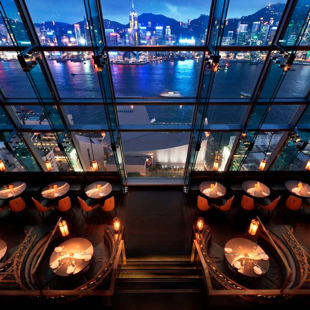 Breath-taking views of Hong Kong harbour & skyline - Aqua, Kowloon, Hong Kong