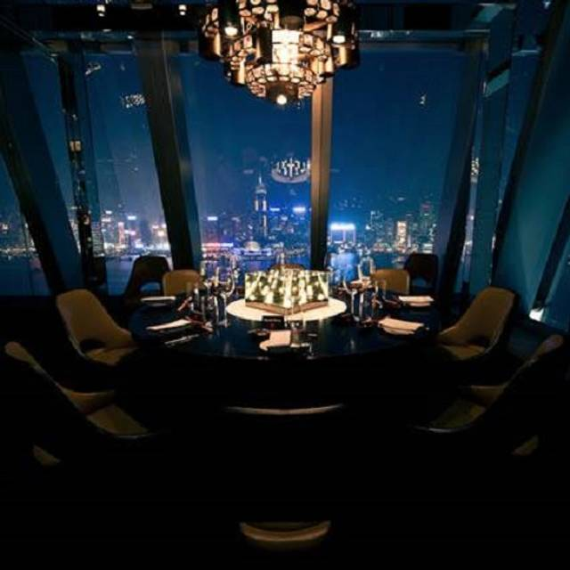 Aqua Private Dining with stunning city views - Aqua, Kowloon, Hong Kong