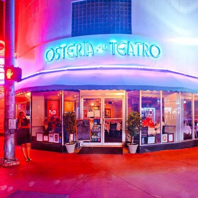 Osteria Del Teatro - Osteria Del Teatro, Miami Beach, FL