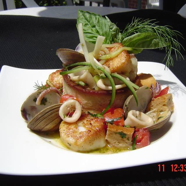 Garden State Seafood Salad - Tre Piani & Tre Bar, Princeton, NJ