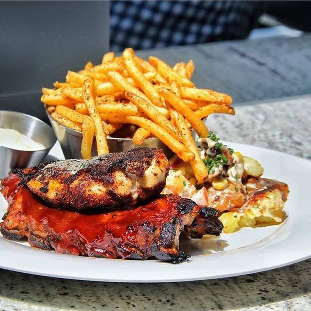 BBQ Ribs + Cajun Chicken Combo - Earls Kitchen + Bar - King Street, Toronto, ON