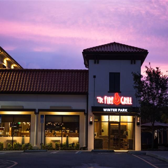 Tr Fire Grill Winter Park Restaurant Winter Park Fl