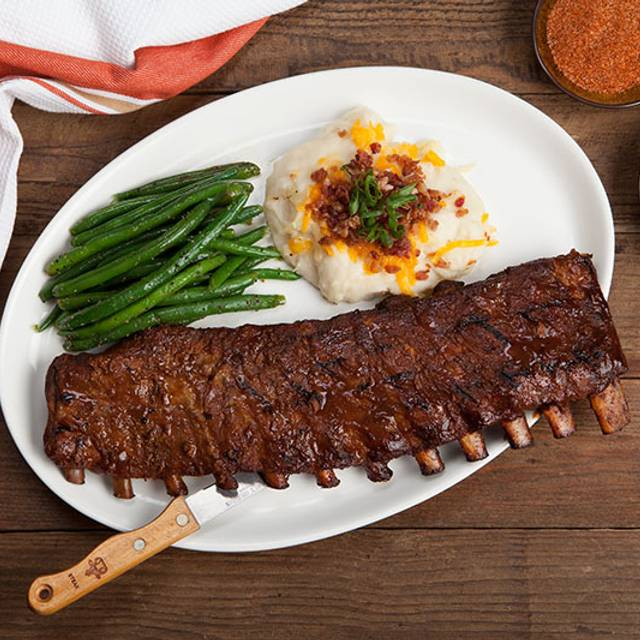 Ribs Beans Potato Elephant Bar Restaurant Albuquerque Nm