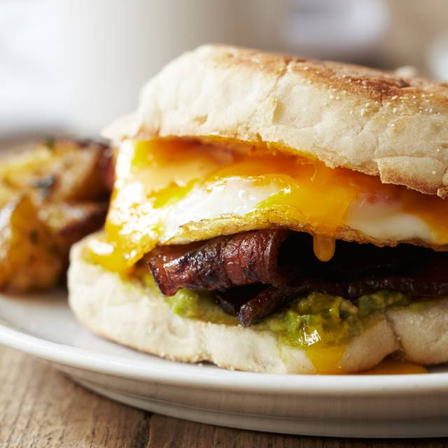 Smoked Bacon And Fried Egg Sandwich - Irvington, New York, NY