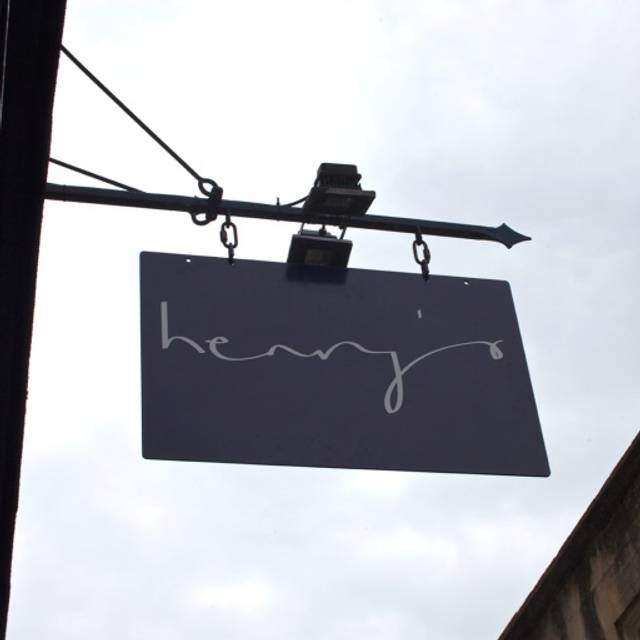 Henry's Restaurant, Bath, Somerset