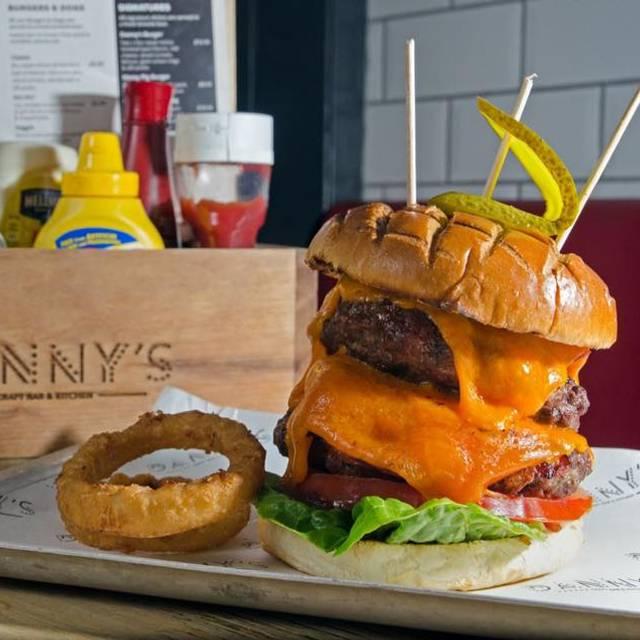 Danny S Craft Bar Salisbury Menu