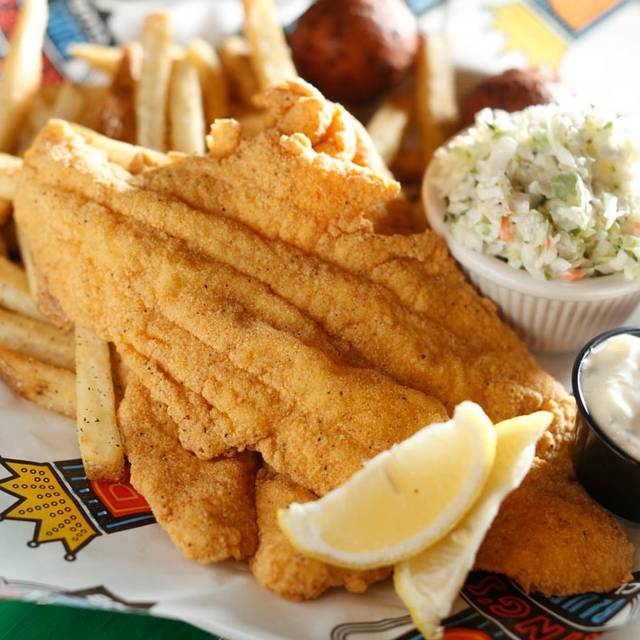 Southern Fried Catfish Dinner - B.B. King's Blues Club - Orlando, Orlando, FL