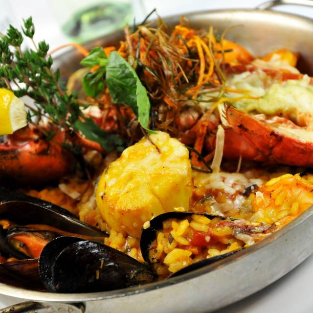 Seafood Paella - Fred's Not Here, Toronto, ON