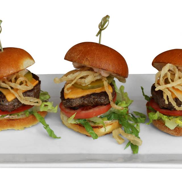 Grilled Mini Burgers - Sugar Factory - Meatpacking District, New York, NY