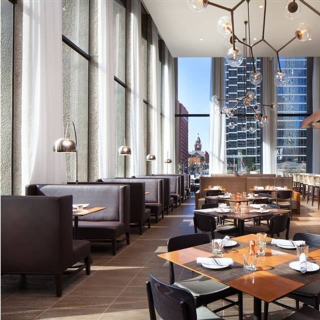 Grill and Vine Restaurant at Westin Downtown Dallas, Dallas, TX