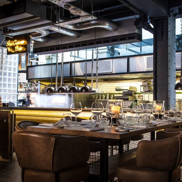 Heddon street kitchen table london opentable for New kitchen london