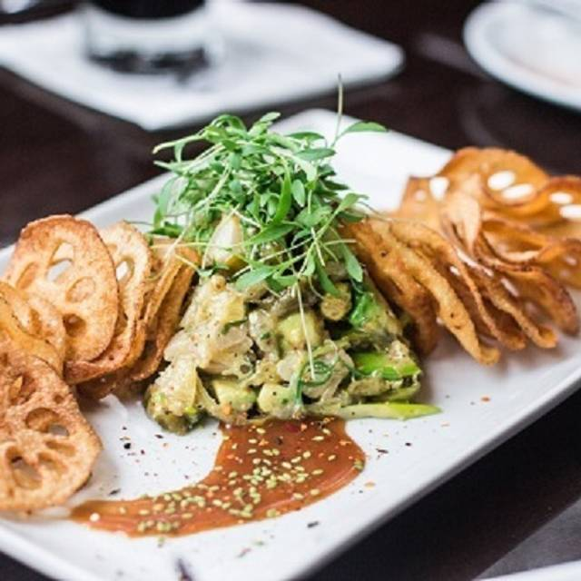 Hamachi Foxhole - Foxhole Culinary Tavern, Austin, TX