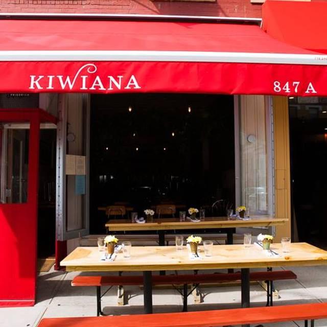 Kiwiana - Kiwiana, Brooklyn, NY