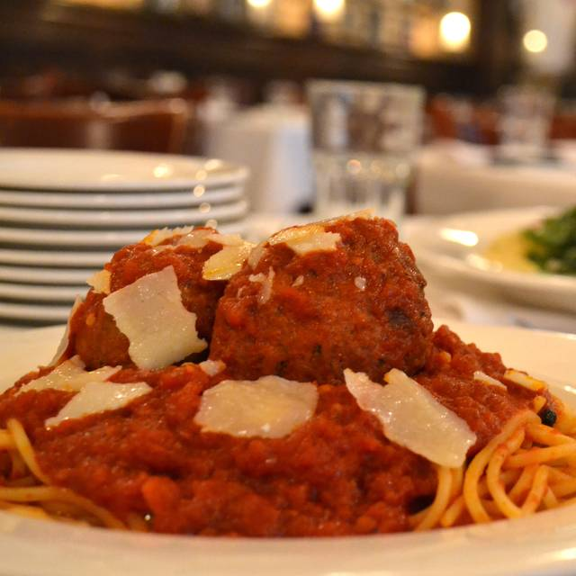 Spaghetti Meatballs - Harry Caray's Italian Steakhouse - Lombard, Lombard, IL