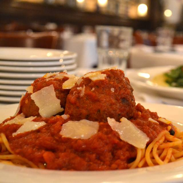 Spaghetti Meatballs - Harry Caray's Italian Steakhouse - Rosemont, Rosemont, IL