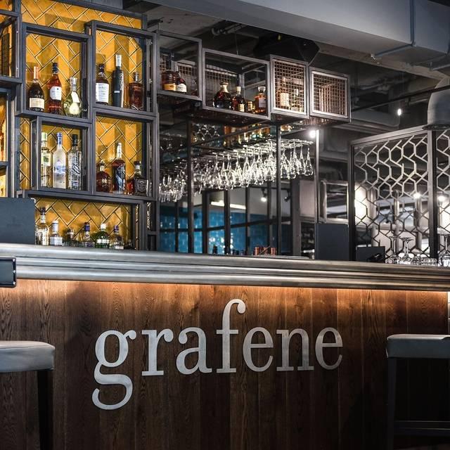 Grafene - Grafene Restaurant & Bar, Manchester