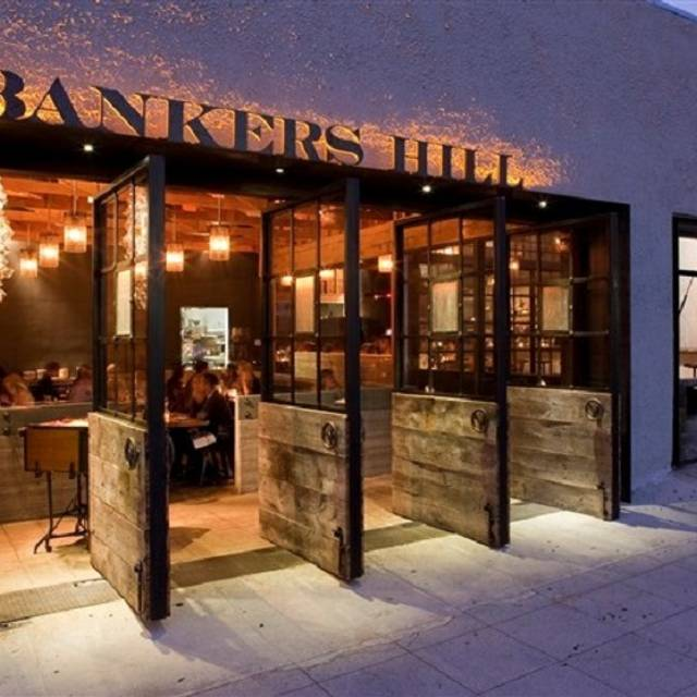 Bankers Hill Bar And Restaurant Happy Hour