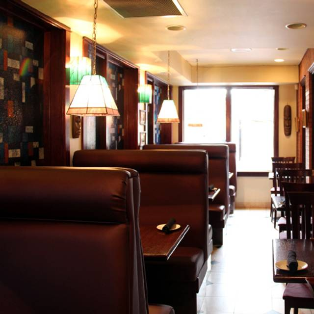Booths - Embarcadero Wine and Oyster Bar, Calgary, AB