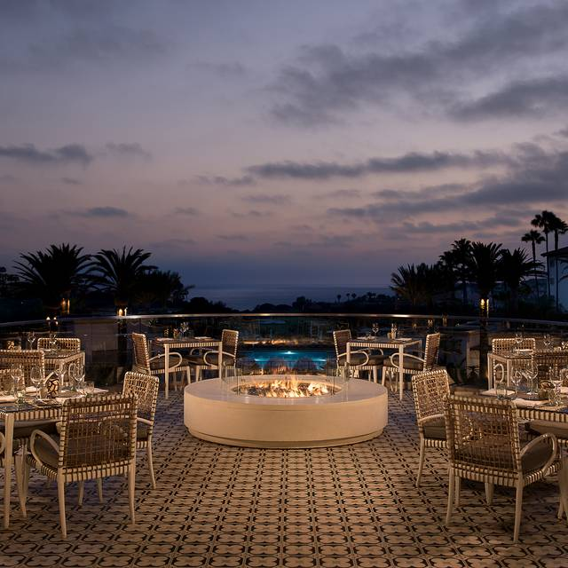 Fire Deck  - AVEO Table + Bar at the Monarch Beach Resort, Dana Point, CA