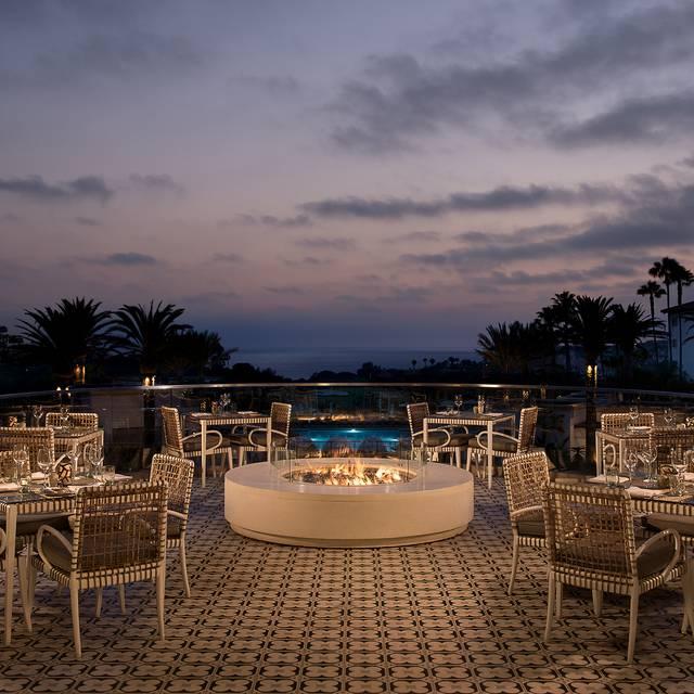 Fire Deck  - AVEO Table + Bar at the Monarch Beach Resort, Dana Point, CA