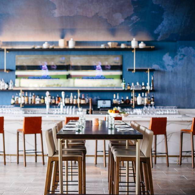 Aveo Detail - AVEO Table + Bar at the Monarch Beach Resort, Dana Point, CA