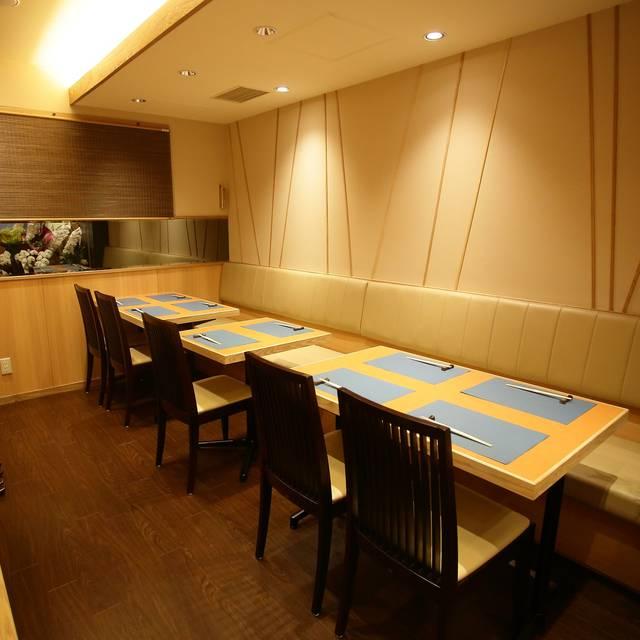 テーブル席 - わくら 銀座店, 中央区, 東京都