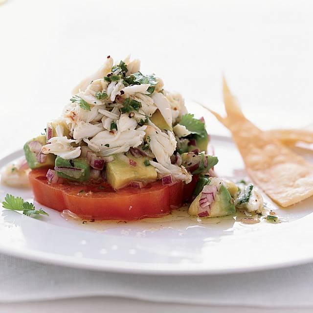 Crab Salad On Sliced Tomato - Gautreau's Restaurant, New Orleans, LA