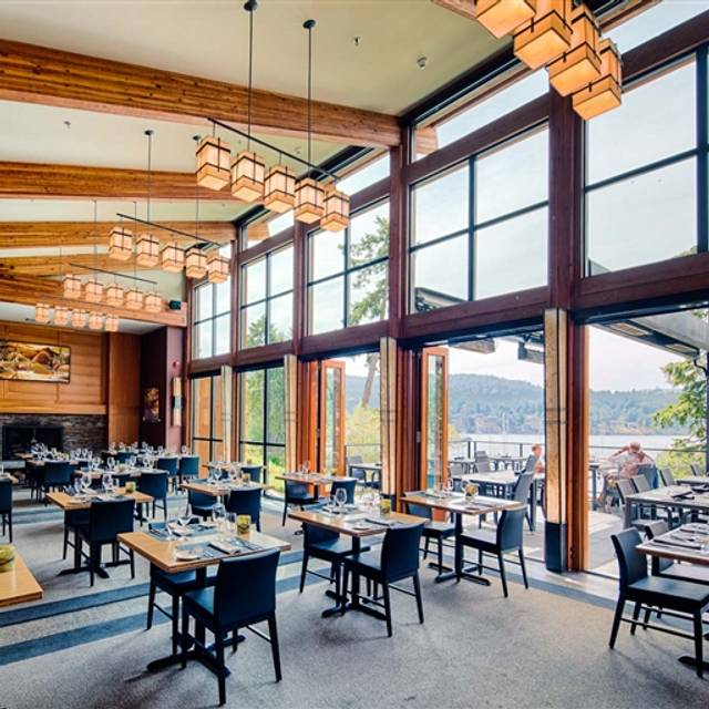 The Dining Room at Brentwood Bay Resort and Spa, Victoria, BC